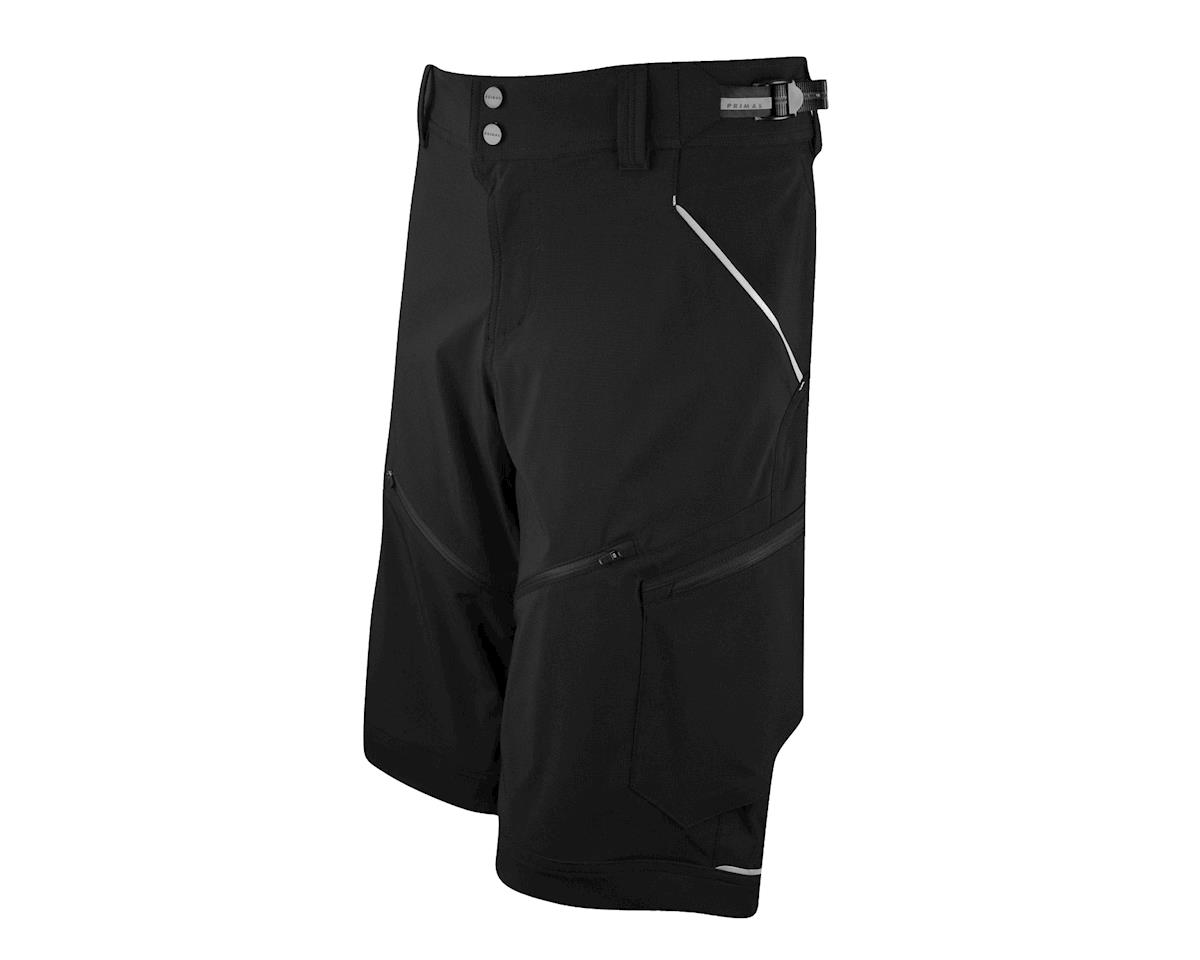 Primal Wear Women's Modenza Loose Fit Shorts (Black)