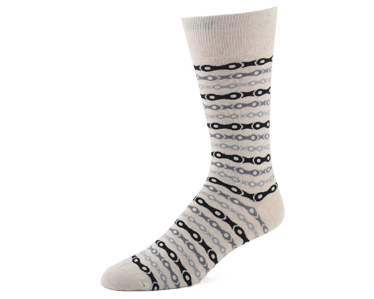 Primal Wear Chain Casual Socks (Grey)