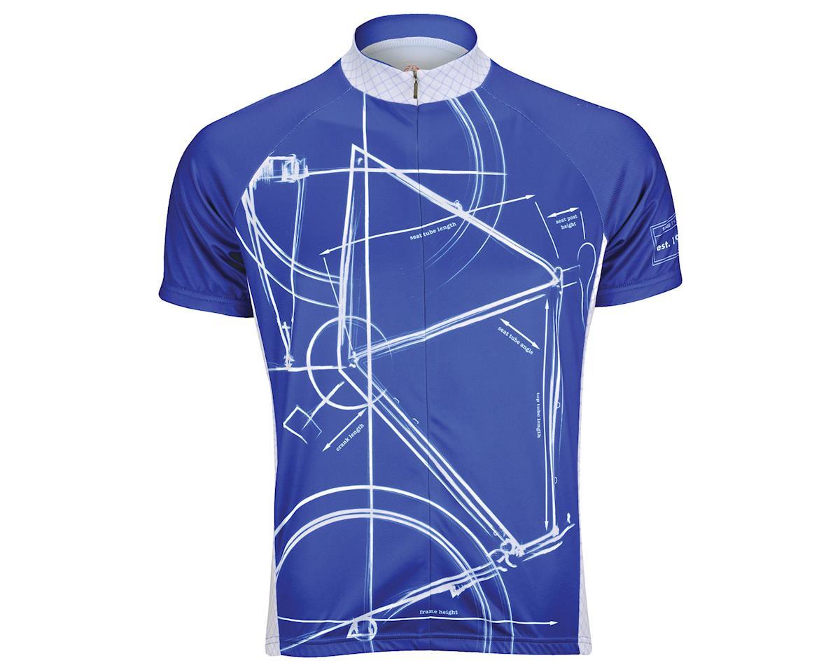 Image 2 for Primal Wear Bike Print Jersey (Blue)