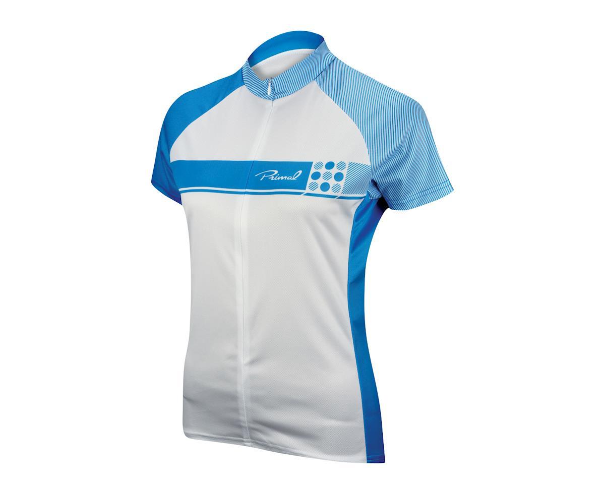Image 1 for Primal Wear Women's Caprice Short Sleeve Jersey (Blue) (Xlarge)