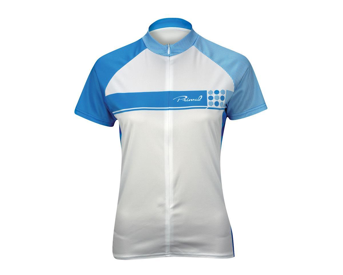 Image 3 for Primal Wear Women's Caprice Short Sleeve Jersey (Blue) (Xlarge)