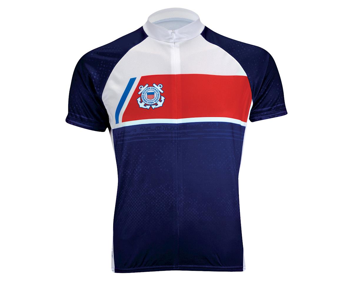 Primal Wear U.S. Coast Guard Navigator Short Sleeve Jersey (Blue/White) (Xxxlarge)