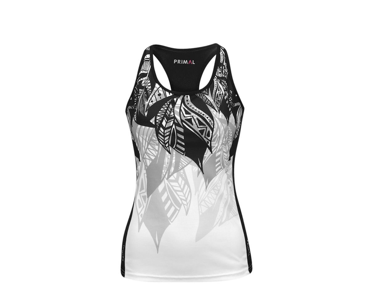 Image 2 for Primal Wear Primal Women's Fringe Couture Gemini Tank (Black/White)