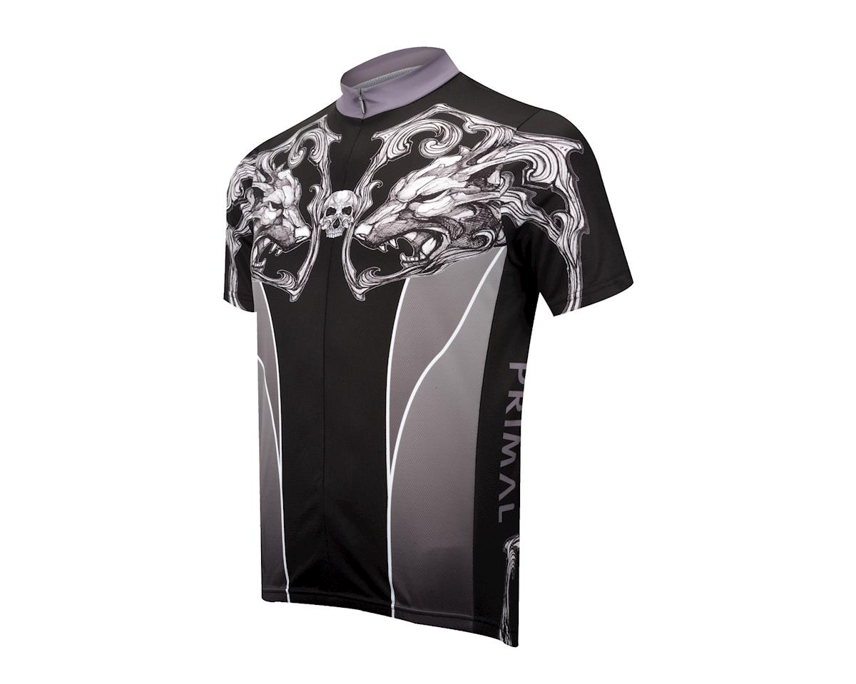 Image 1 for Primal Wear Il Lupo Jersey (Black)