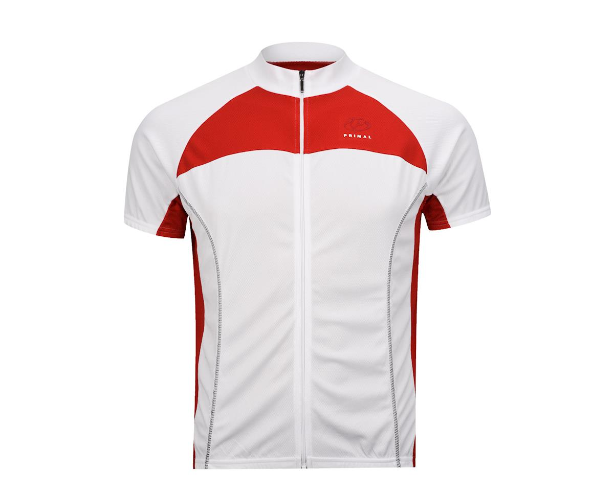 Primal Wear Lucent Black Label Short Sleeve Jersey (White) (Xlarge)