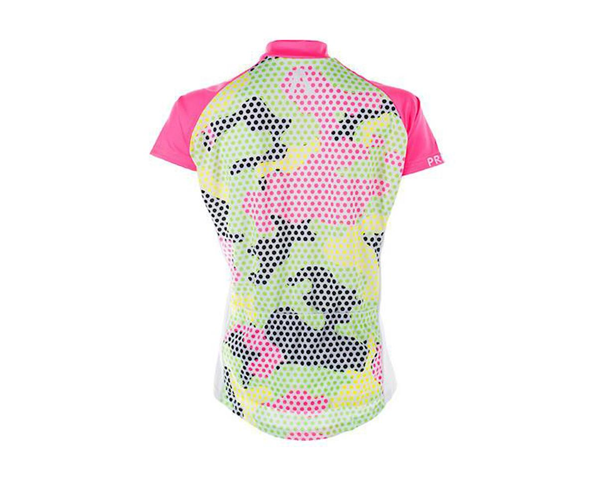 Image 2 for Primal Wear Mishmesh Women's Jersey (Green/Pink/Camo Print)