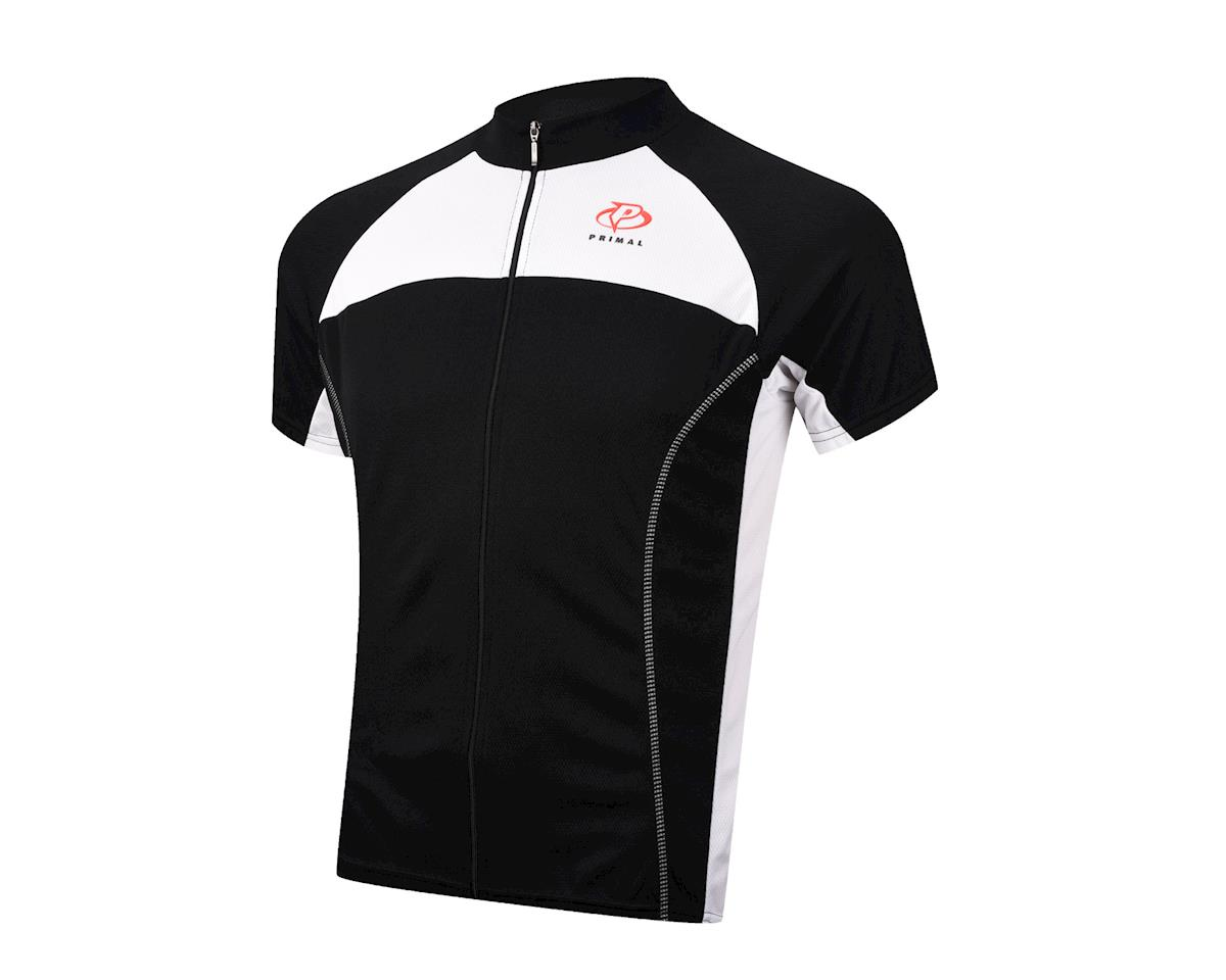 Primal Wear Onyx Black Label Short Sleeve Jersey (Black) (Xlarge)