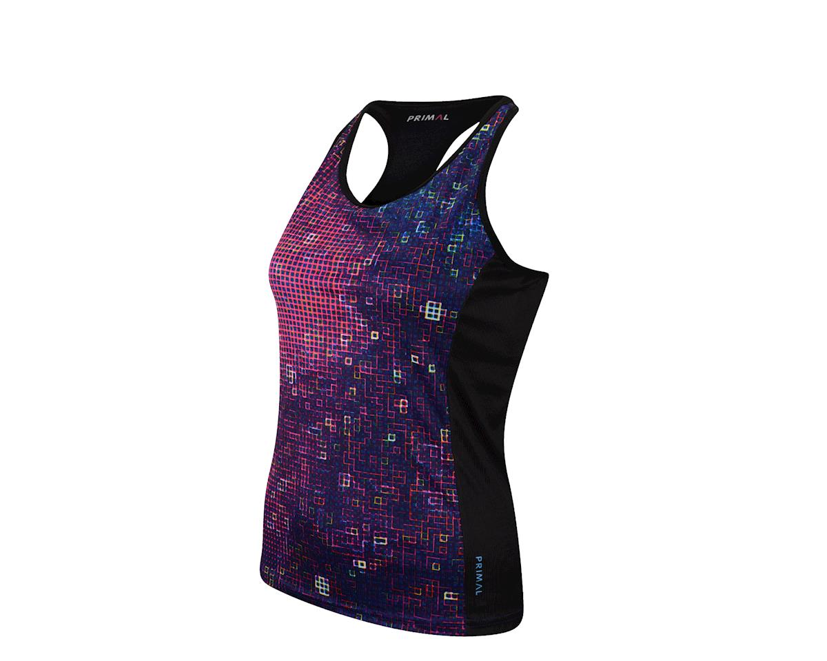 Image 1 for Primal Wear Primal Women's Pixel8 Gemini Tank (Pink)