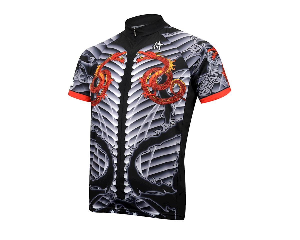 Image 1 for Primal Wear Samurai Dragon Jersey (Black)