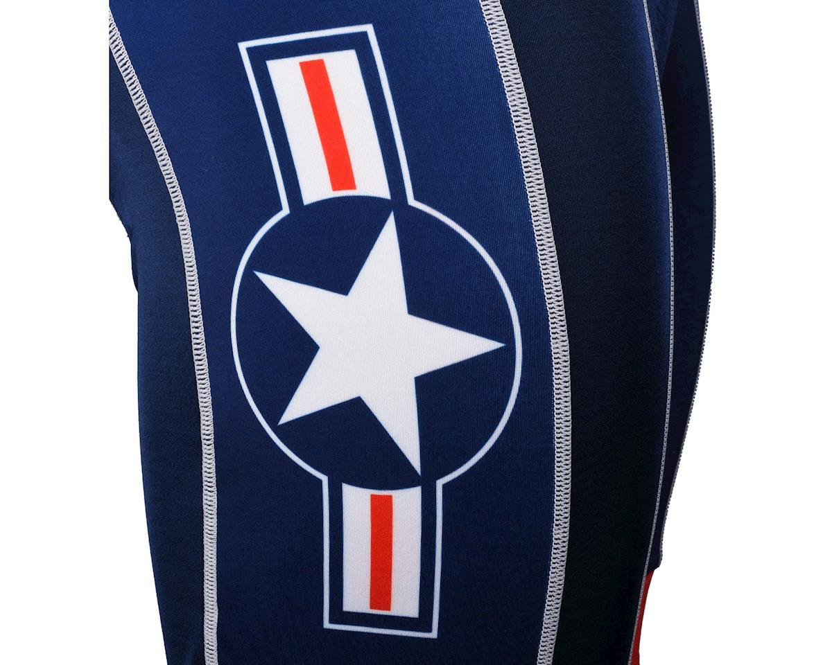 Primal Wear US Military Team 2015 Bib Shorts (Blue) (Medium)