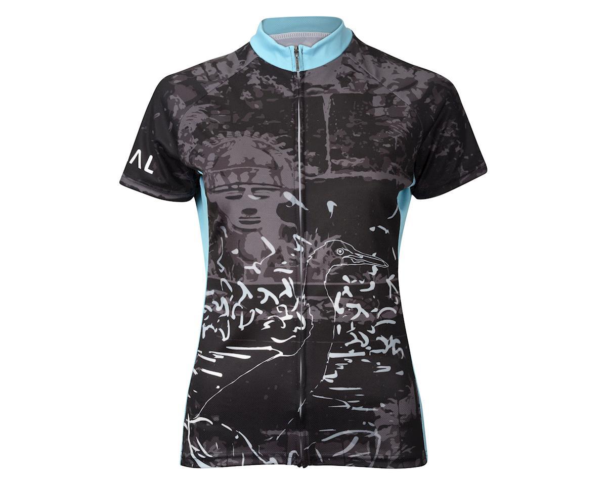 Primal Wear Women's Flocka Short Sleeve Jersey (Black/Blue) (Xxlarge)