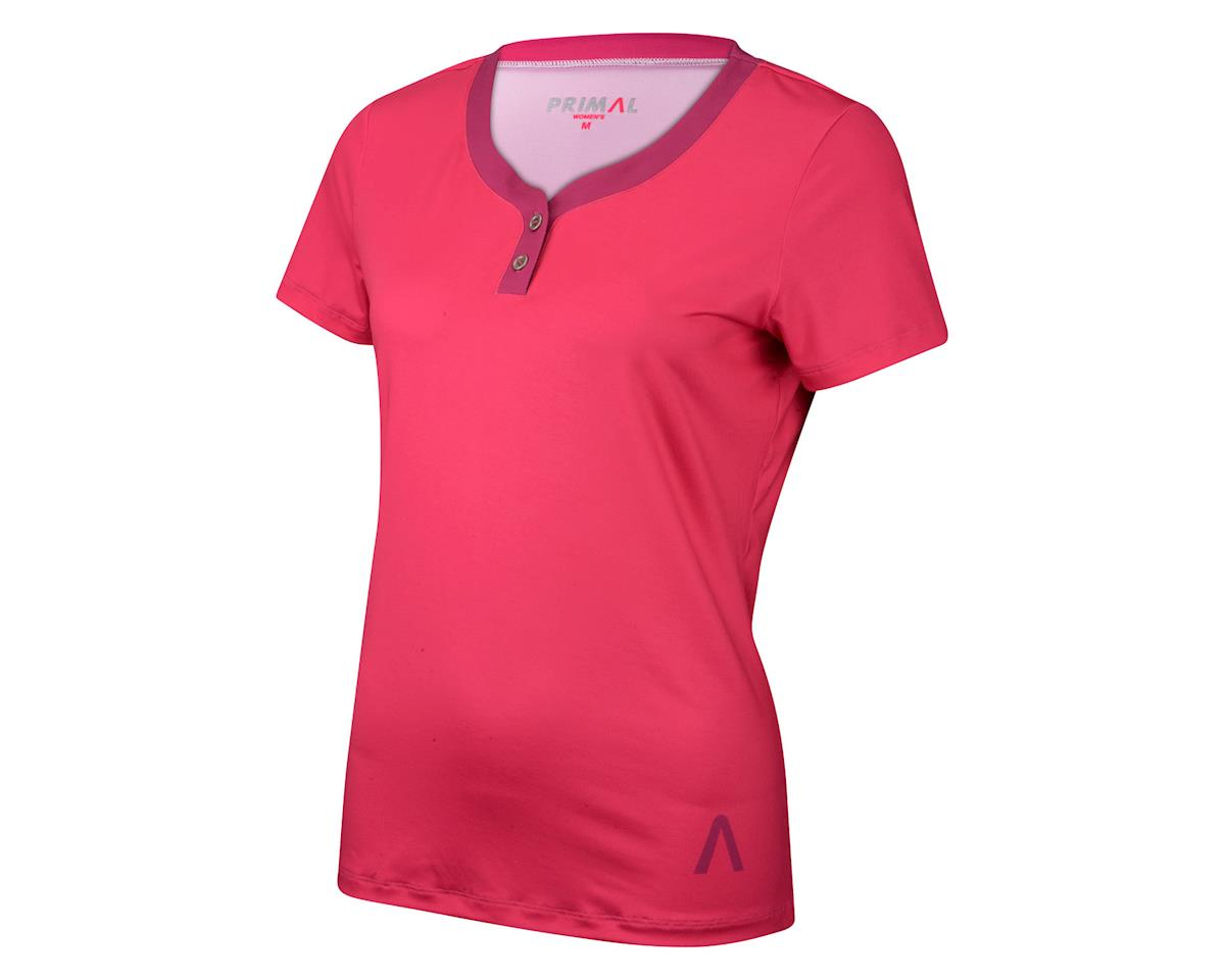 Primal Wear Women's Henley Short Sleeve Jersey - 2016 (Purple) (Xxlarge)
