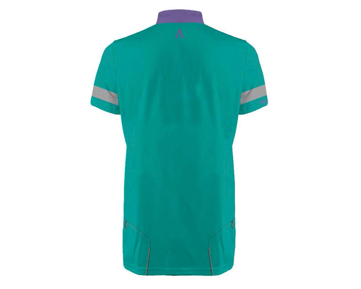 Image 3 for Primal Wear Women's Kick Saunder Polo Shirt (Teal/Stripe)