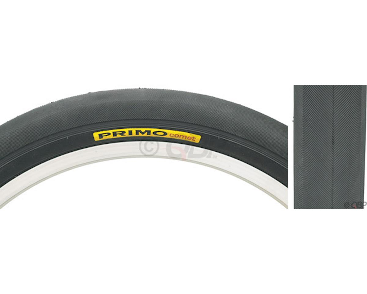 "Comet Aramid Belt Recumbent Tire: 20"" x 1.35"" Steel Bead Black"