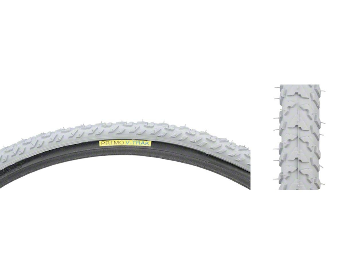 "Gray 24 x 1-3/8"" Track Tire for Wheelchair # C-763 V"