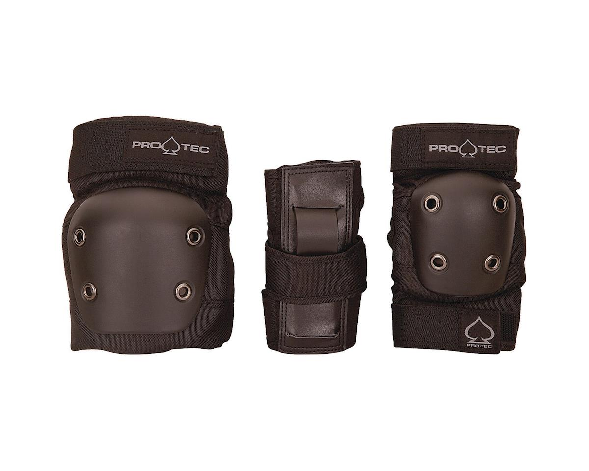 Pro-Tec Youth Street Gear Junior, 3-Pack: Black SM