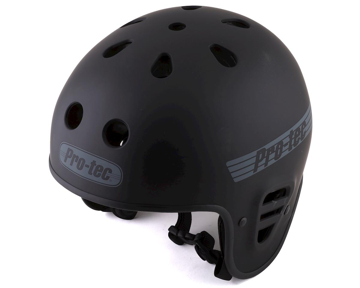 Pro-Tec Full Cut Helmet: Red Flake, MD