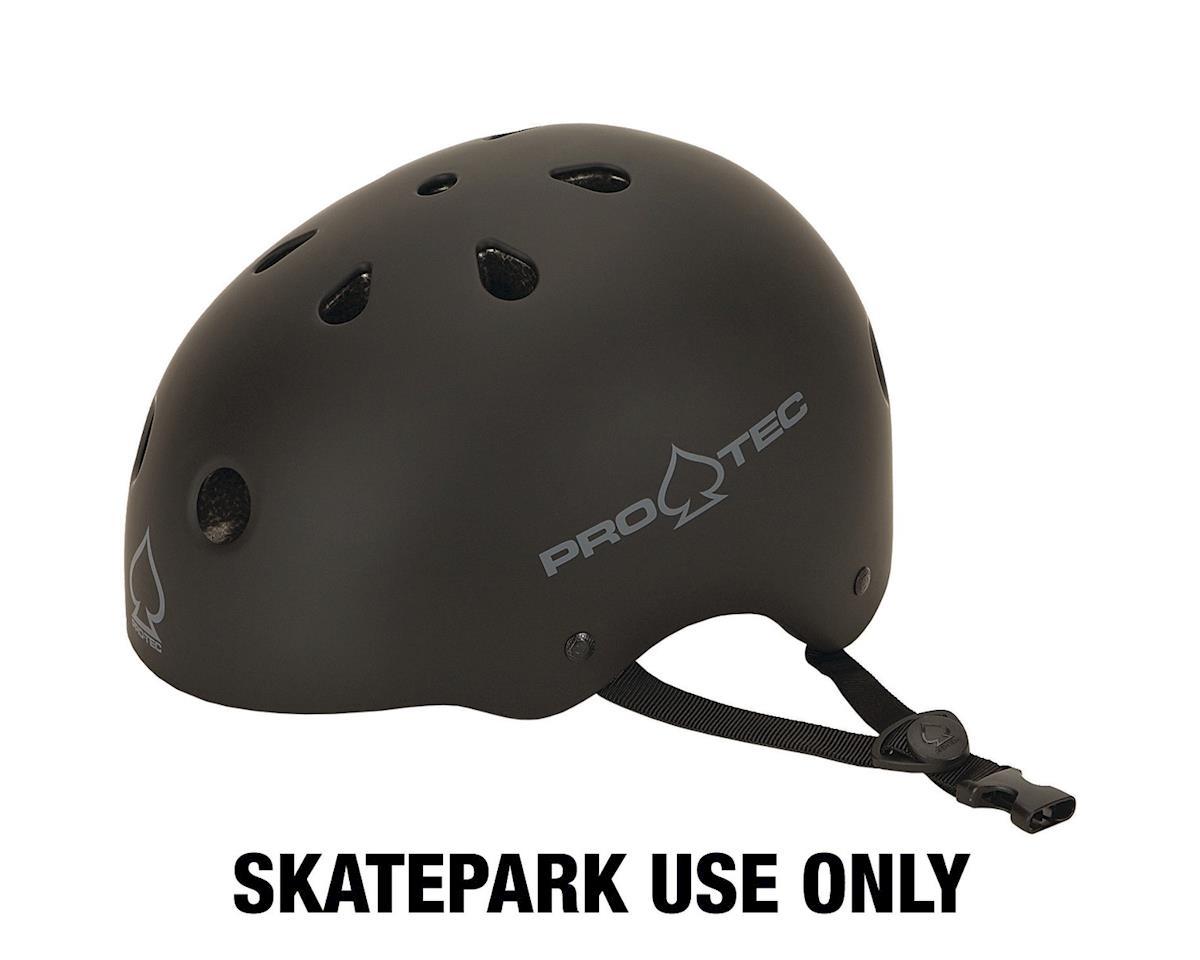 Pro-Tec ProTec Classic Skate Helmet (Matte Black) (L)