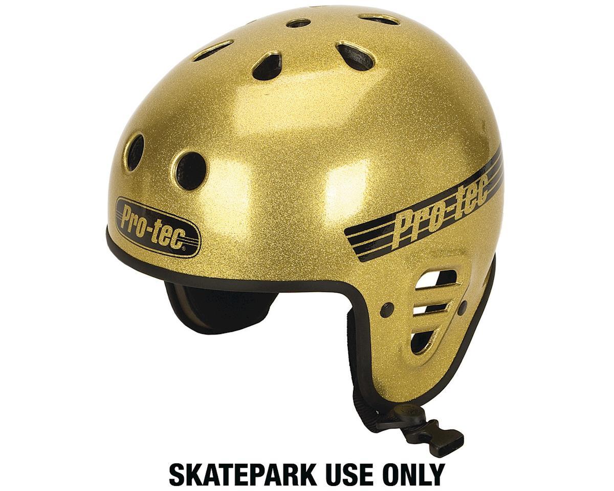 Pro-Tec ProTec Full Cut Helmet (Gold Flake) (M)