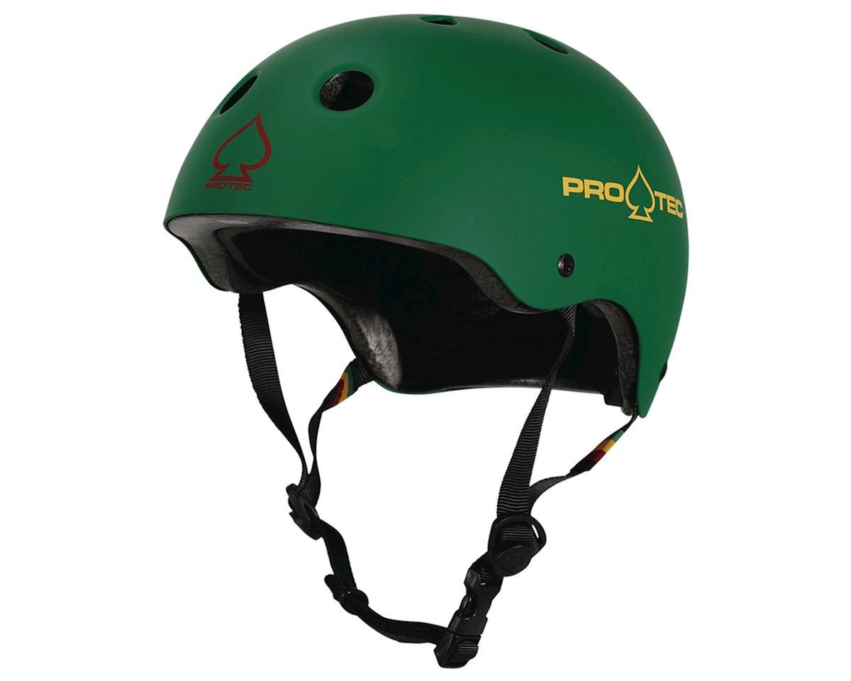 Pro-Tec ProTec Classic Cert Helmet (Matte Rasta Green) (M)