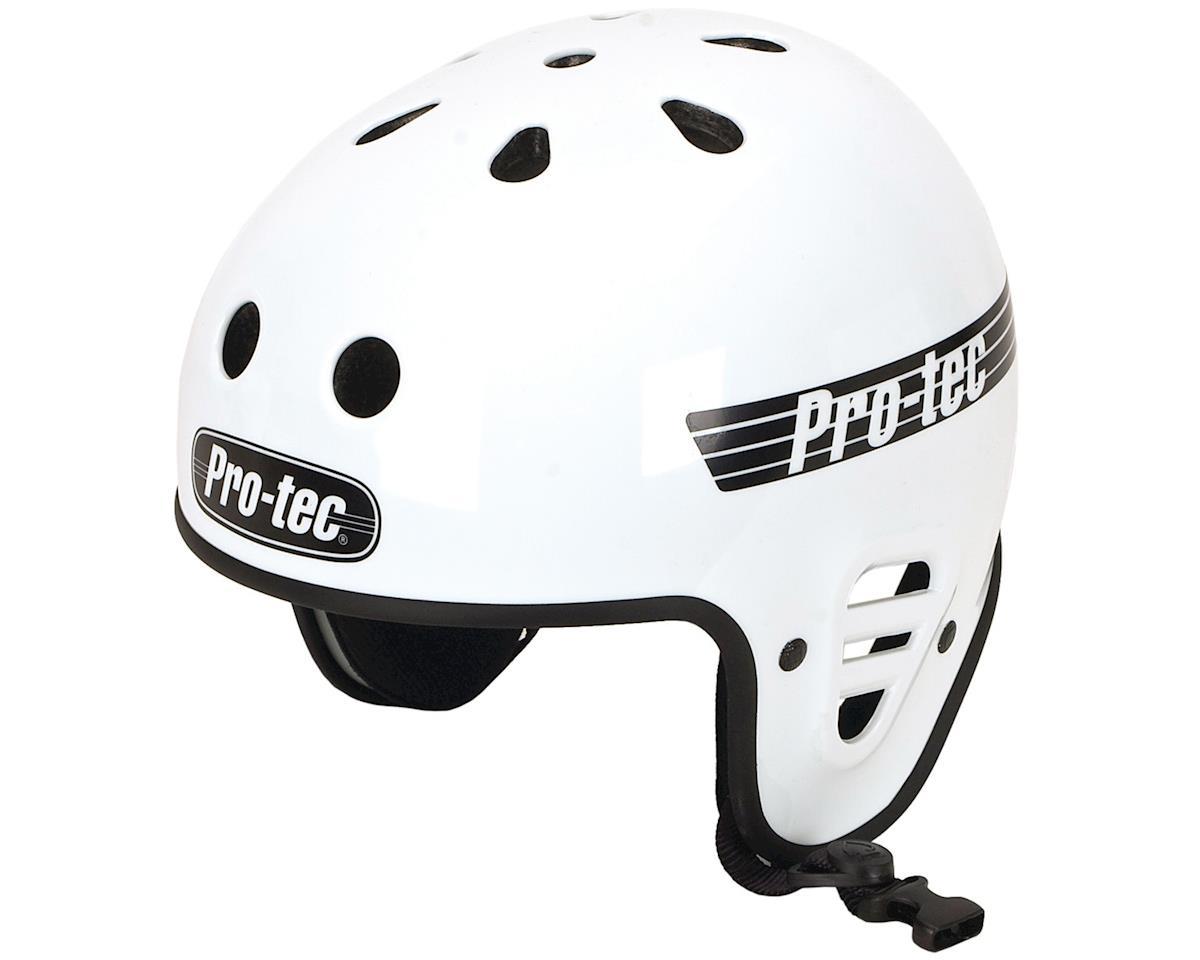 Pro-Tec ProTec Full Cut Certified Helmet (Gloss White) (L)