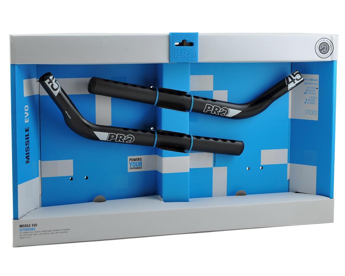 Pro Missile EVO Ski-Bend Aerobar Extensions (Carbon Black Edition)
