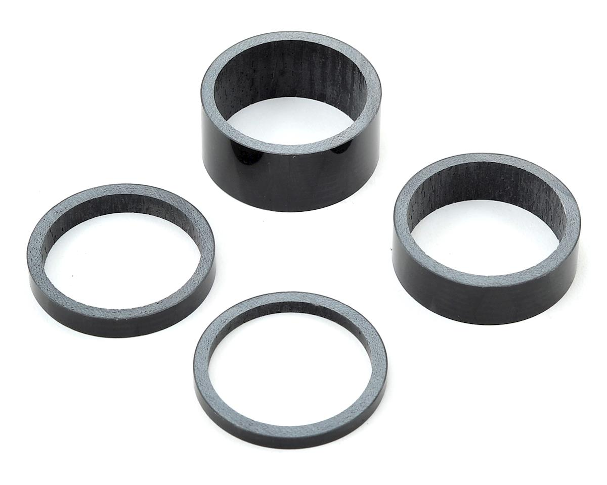 "Pro UD Carbon Headset Spacer Set 1-1/8"" (3mm, 5mm, 10mm, 15mm)"