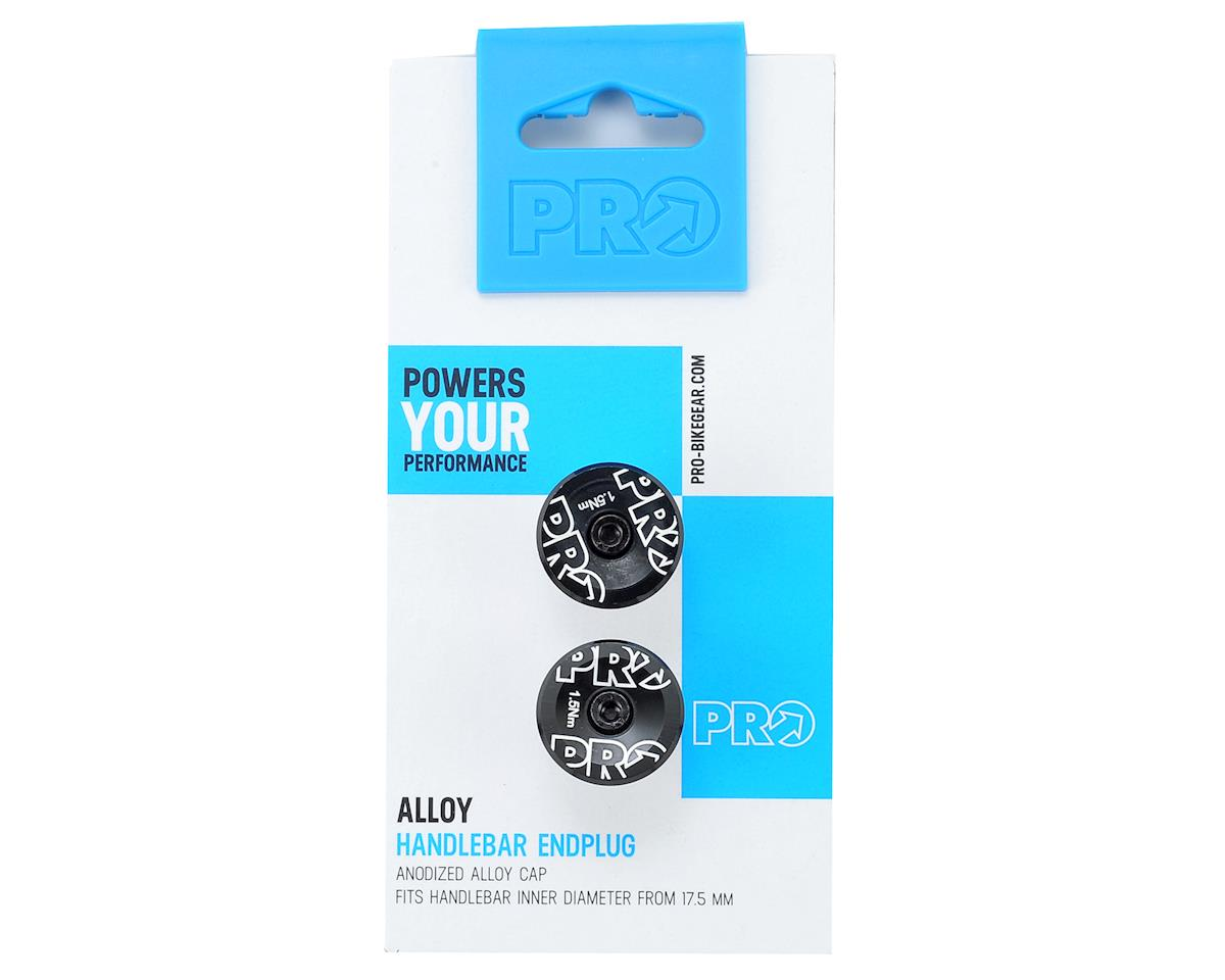 Pro Handlebar Alloy Endplug (Black Anodized)