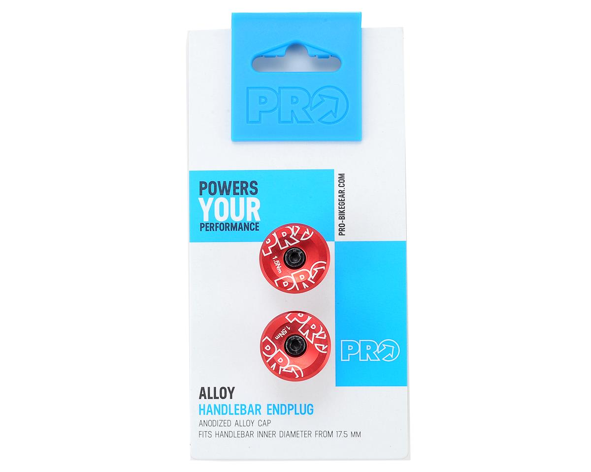 Pro Handlebar Alloy Endplug (Red Anodized)
