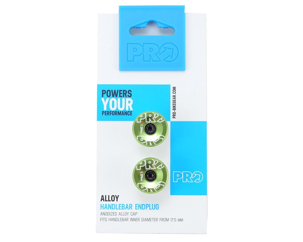 Pro Handlebar Alloy Endplug (Green Anodized)