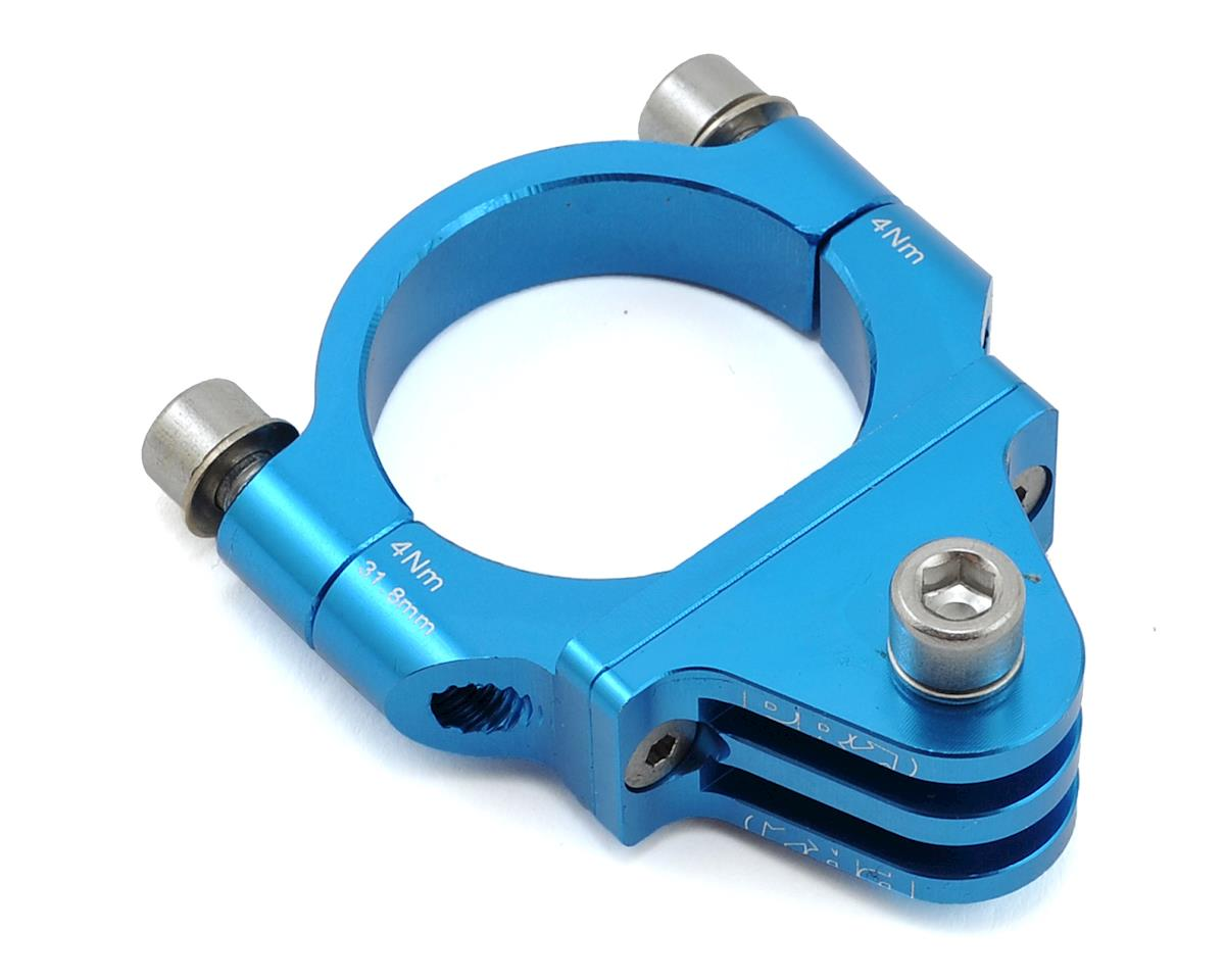 Pro Handlebar Camera Mount (Blue) (31.8mm)