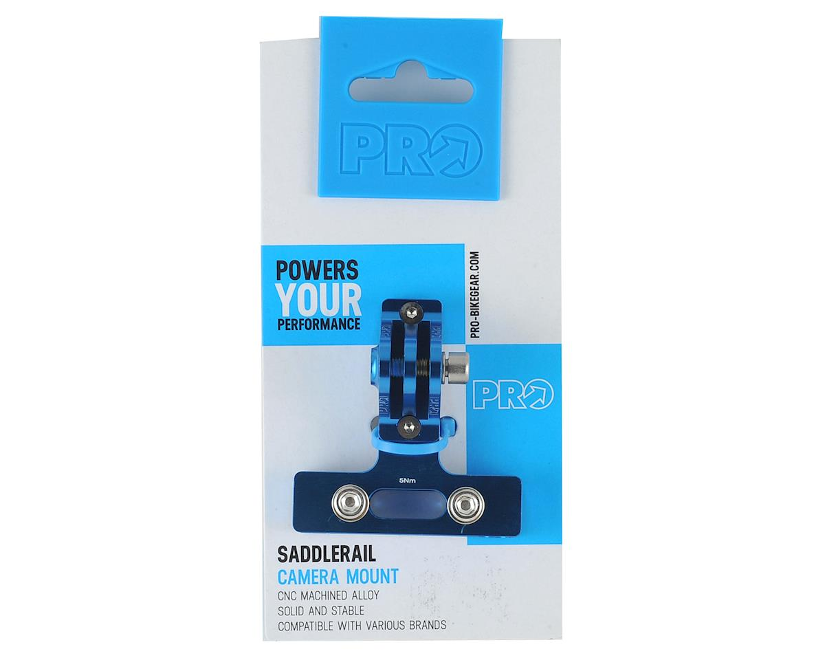 Pro Rear Saddle Rail Camera Mount (Blue)
