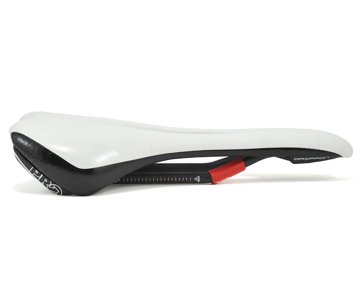 Pro Griffon Carbon AF Saddle (White/Black) (142mm)