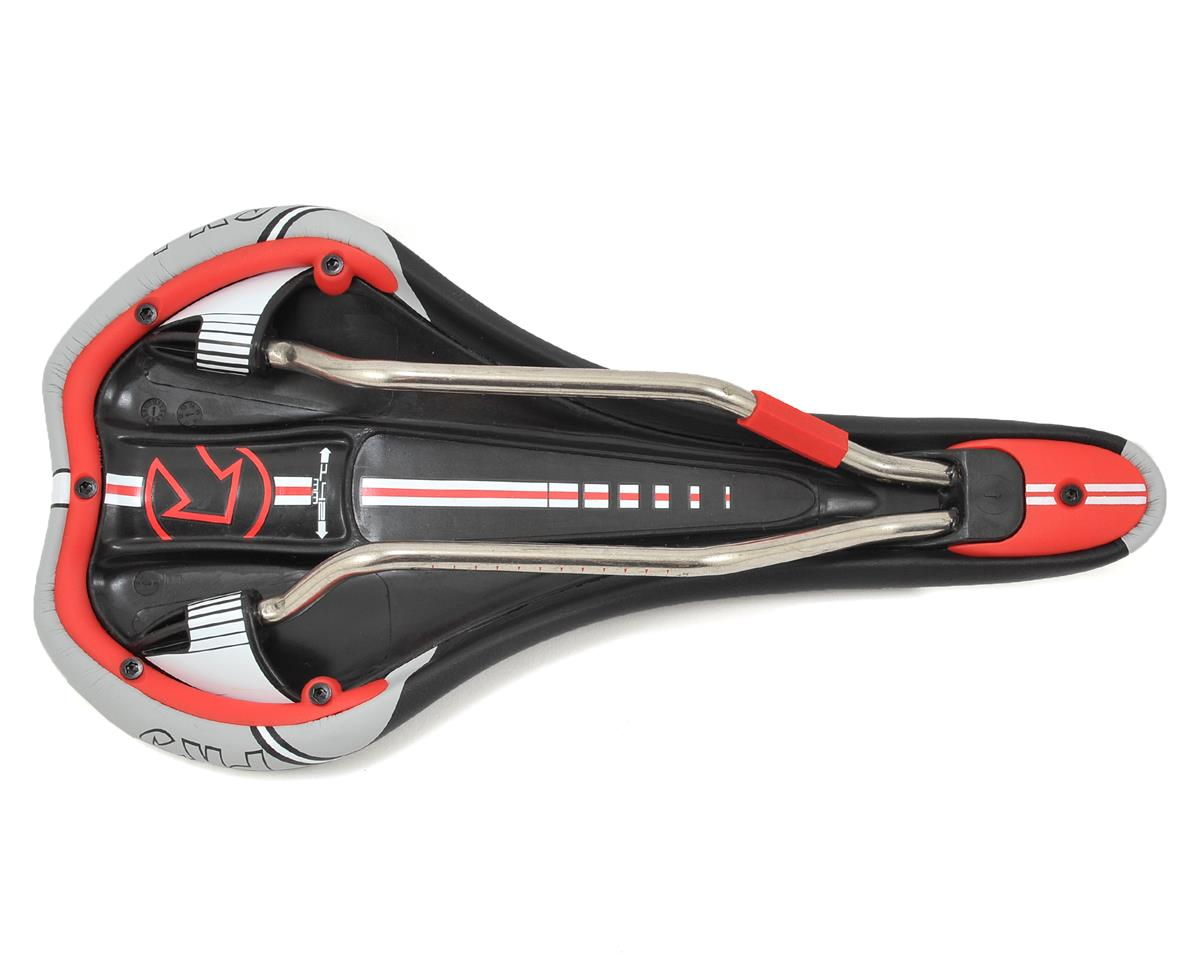 Pro Turnix Ti Hollow Saddle (Black/Gray) (142mm)