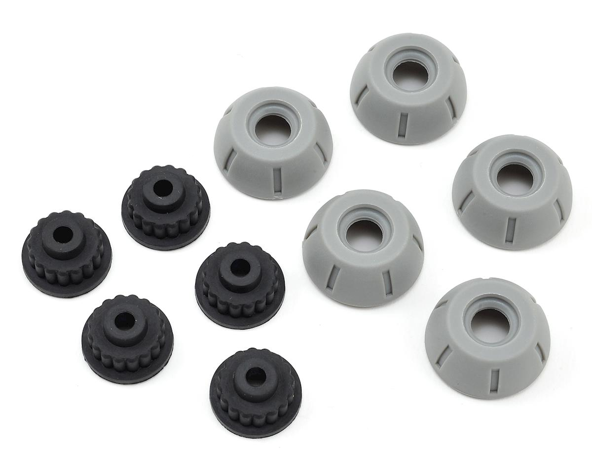 Pro Repair Set Team Pump Valve Rubbers + Caps (5 pair)
