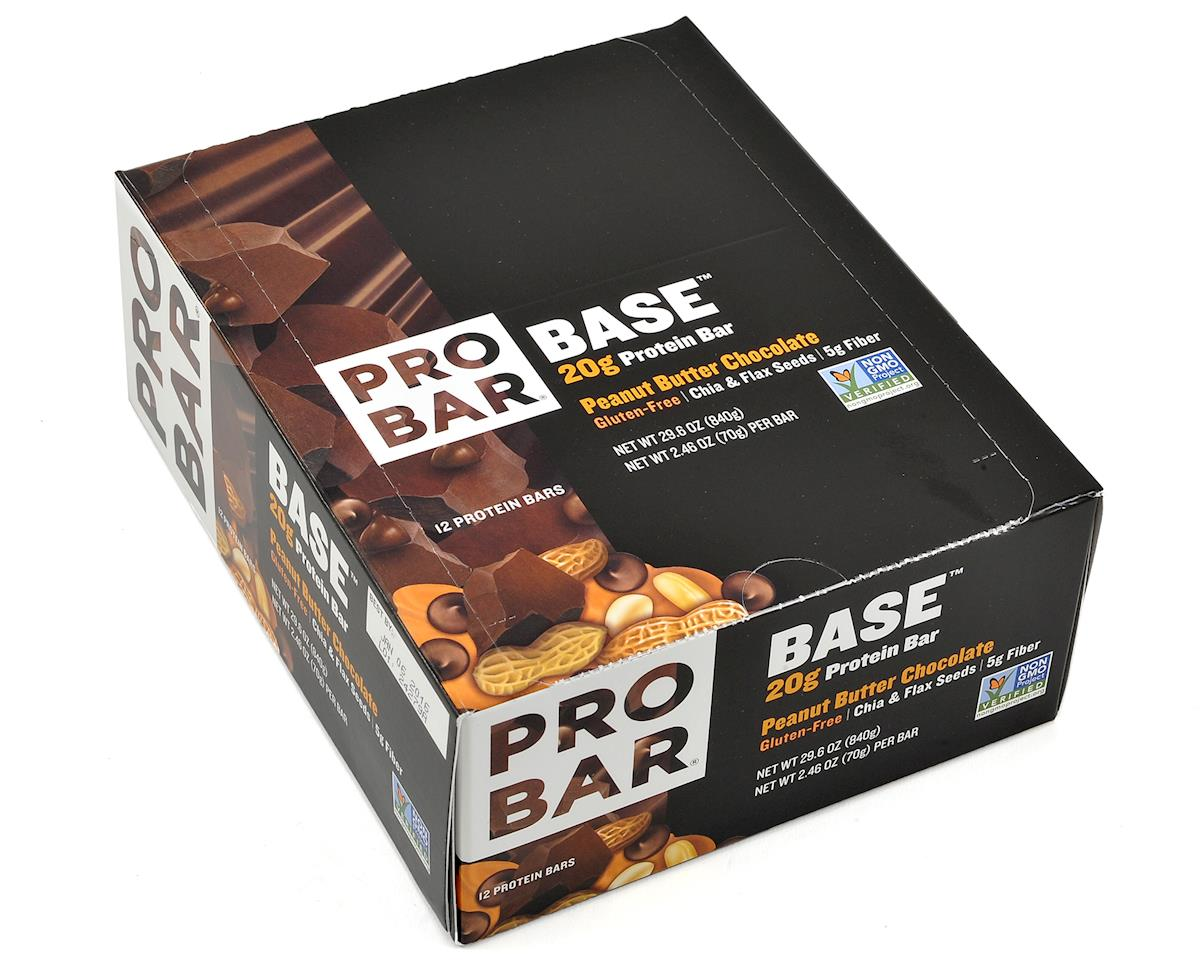 Probar Base Protein Bar (12) (Peanut Butter Chocolate)