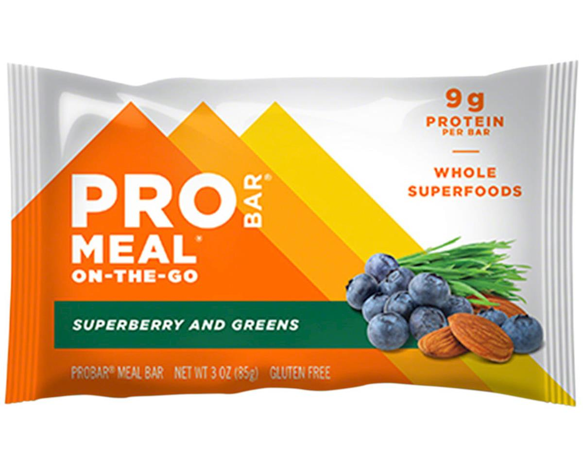 ProBar Meal Bar: Superberry and Greens, Box of 12