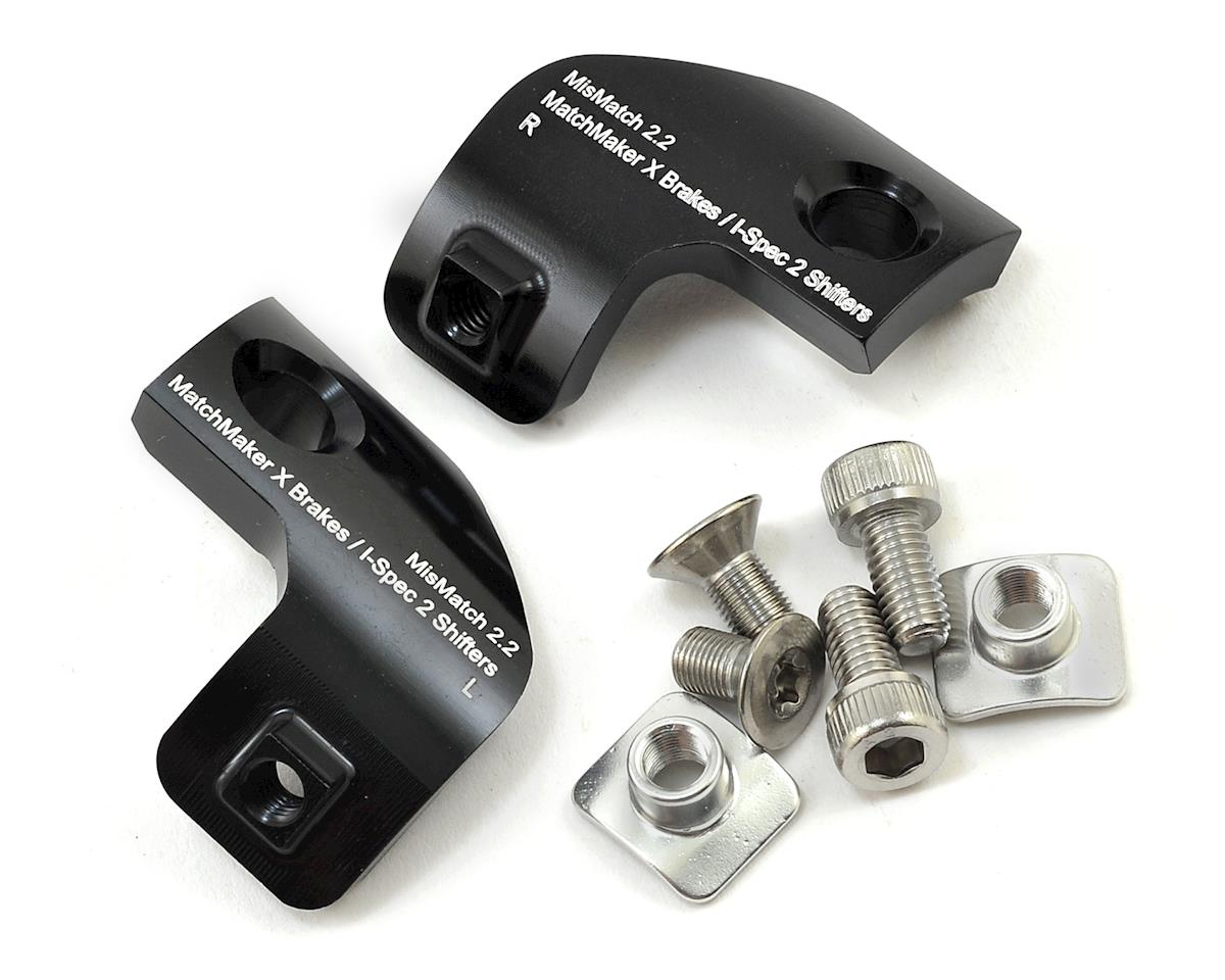 Problem Solvers Mismatch 2.2 Adapter (SRAM Brakes to Shimano I- Spec II) (Pair)