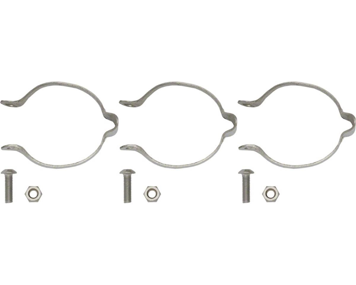 Problem Solvers 28.6 Stainless Clamp-on Cable Guides Set/3