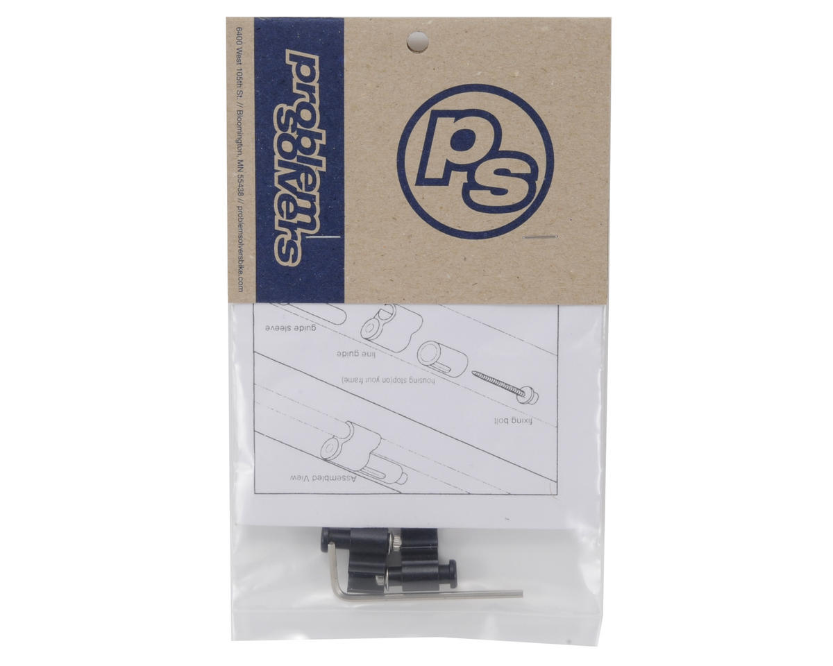 Problem Solvers Hydraulic Brake Guides (2) (Black)