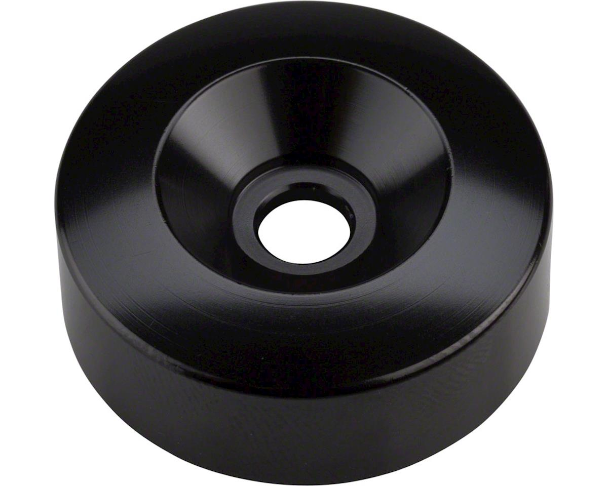 Problem Solvers Pog Top Cap & 10mm Spacer (Black No Logo)