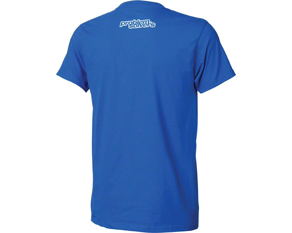 Problem Solvers Square Peg T-Shirt: Blue SM (S)