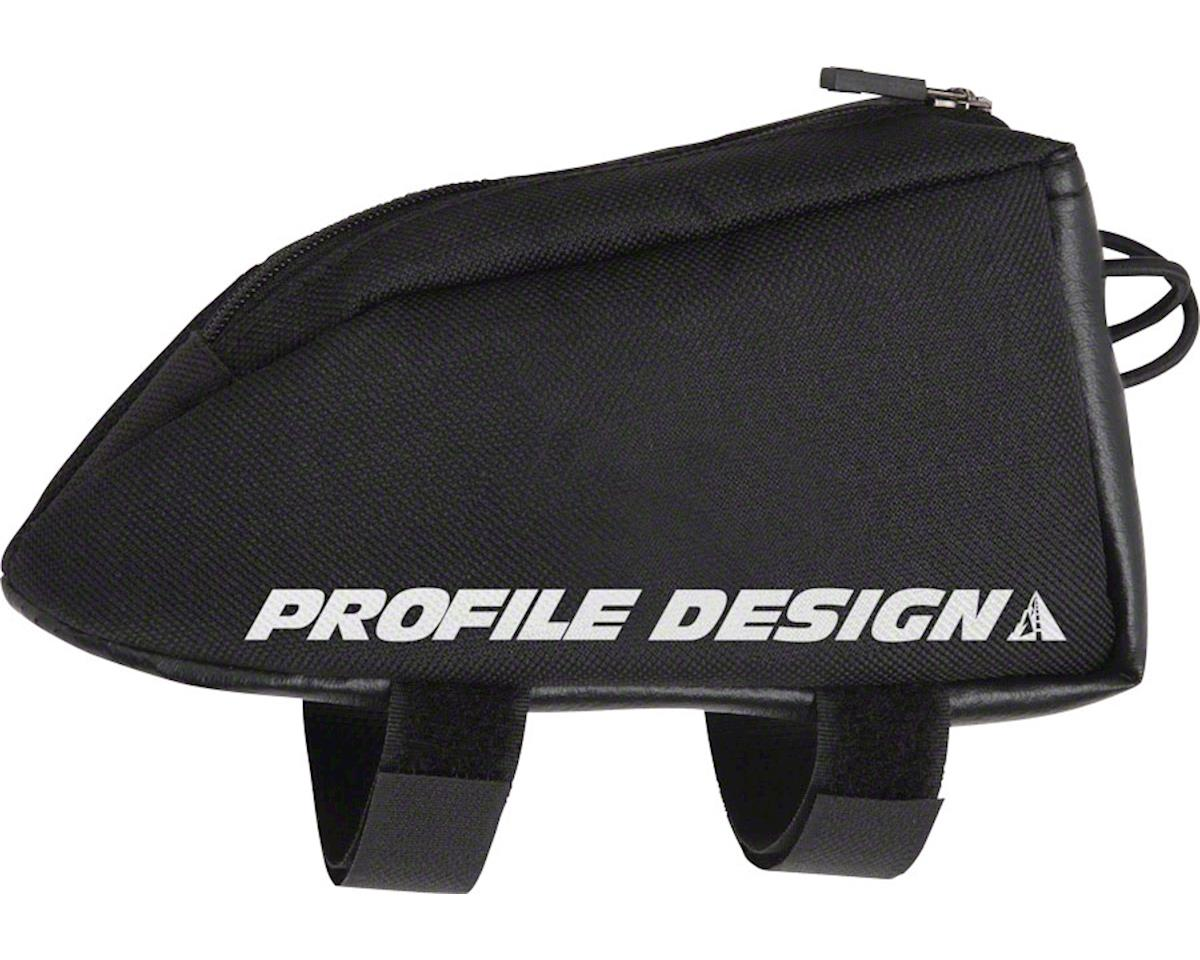Profile Design Aero Compact E-Pack Top Tube/Stem Bag: Black