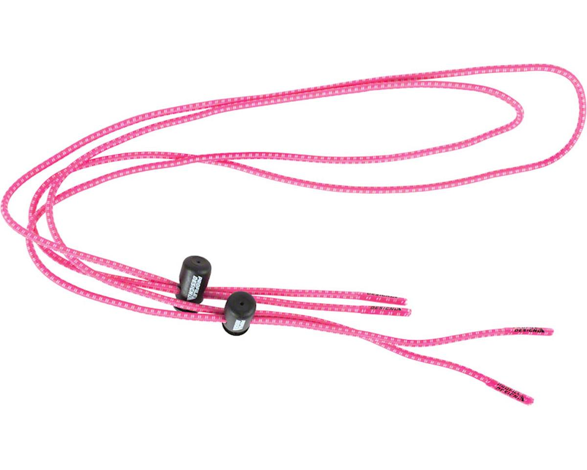 Elastic Laces with Lock: Pink