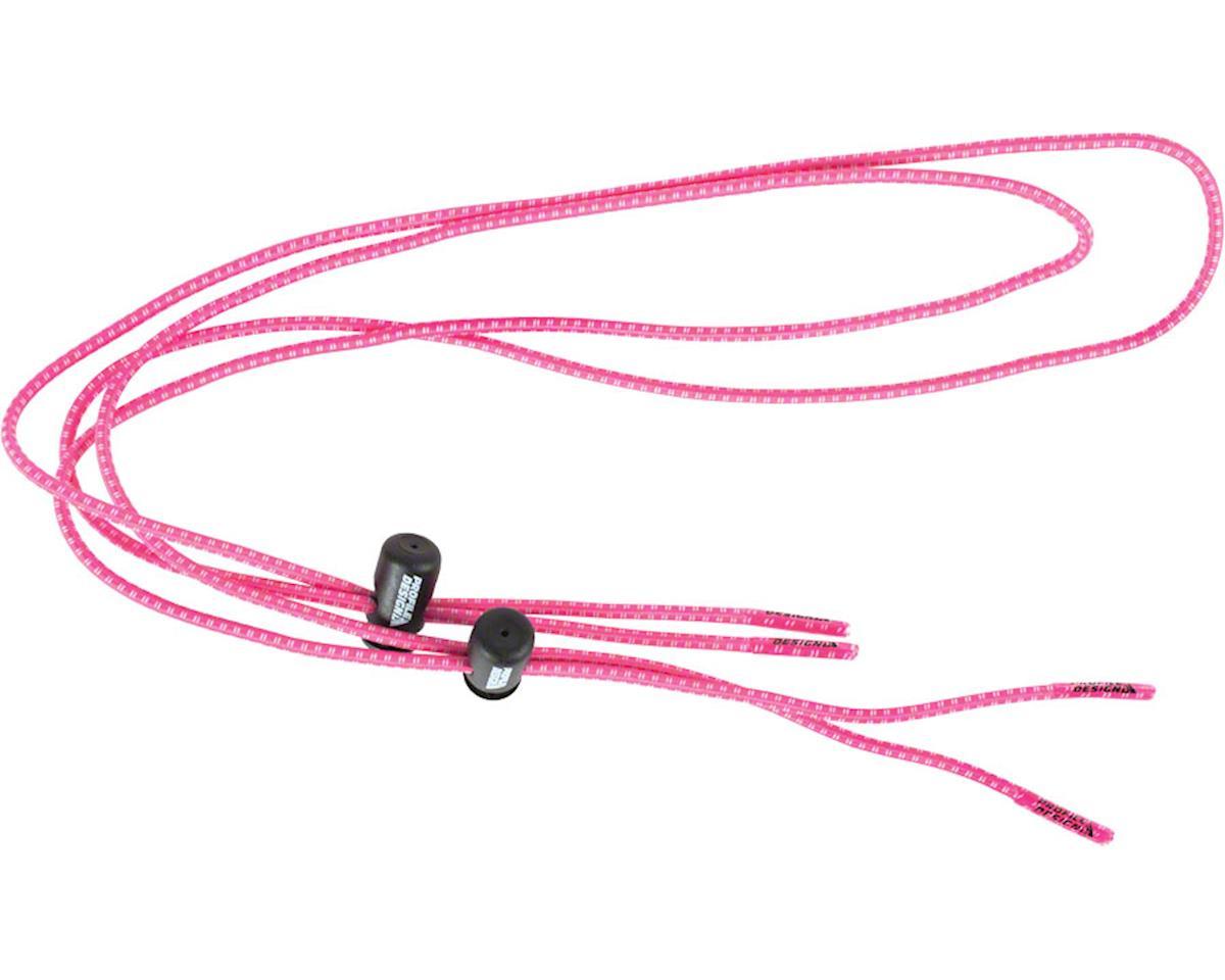 Profile Design Elastic Laces w/ Lock (Pink)