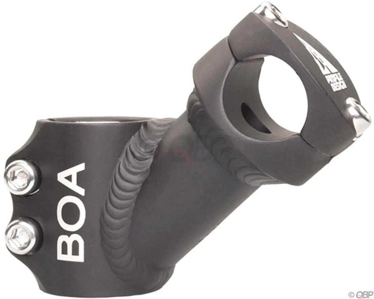 "Profile Design Boa Stem (Black) (+40°) (1-1/8"") (Threadless) (65mm)"