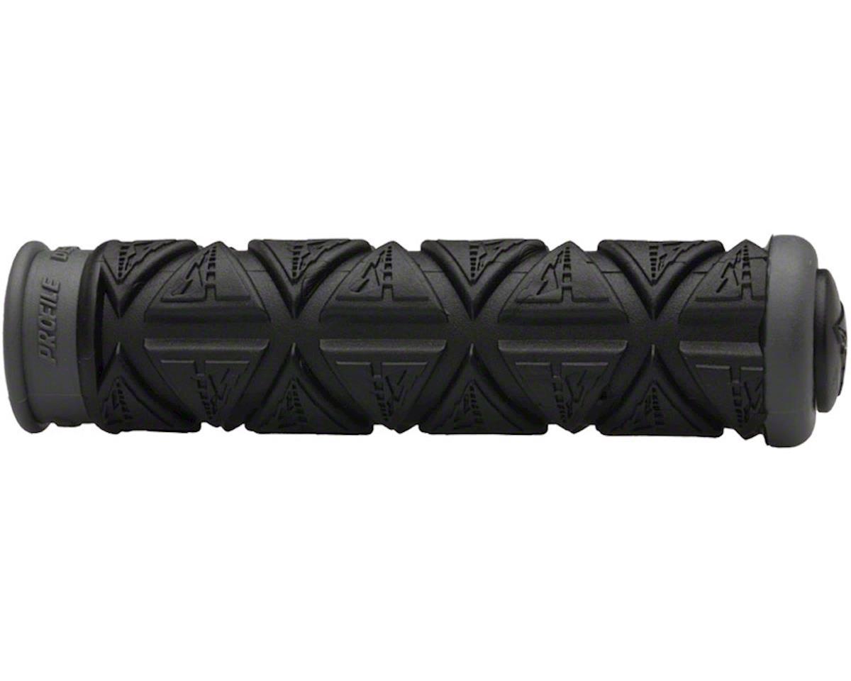 Profile Design Dual Ply Grips: Black/Gray
