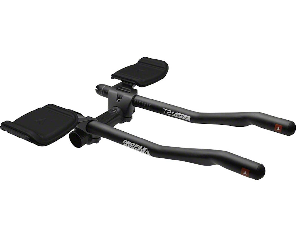 Profile Design T2 Plus S-Bend Carbon Aerobar 357mm Extension (Matte Black)