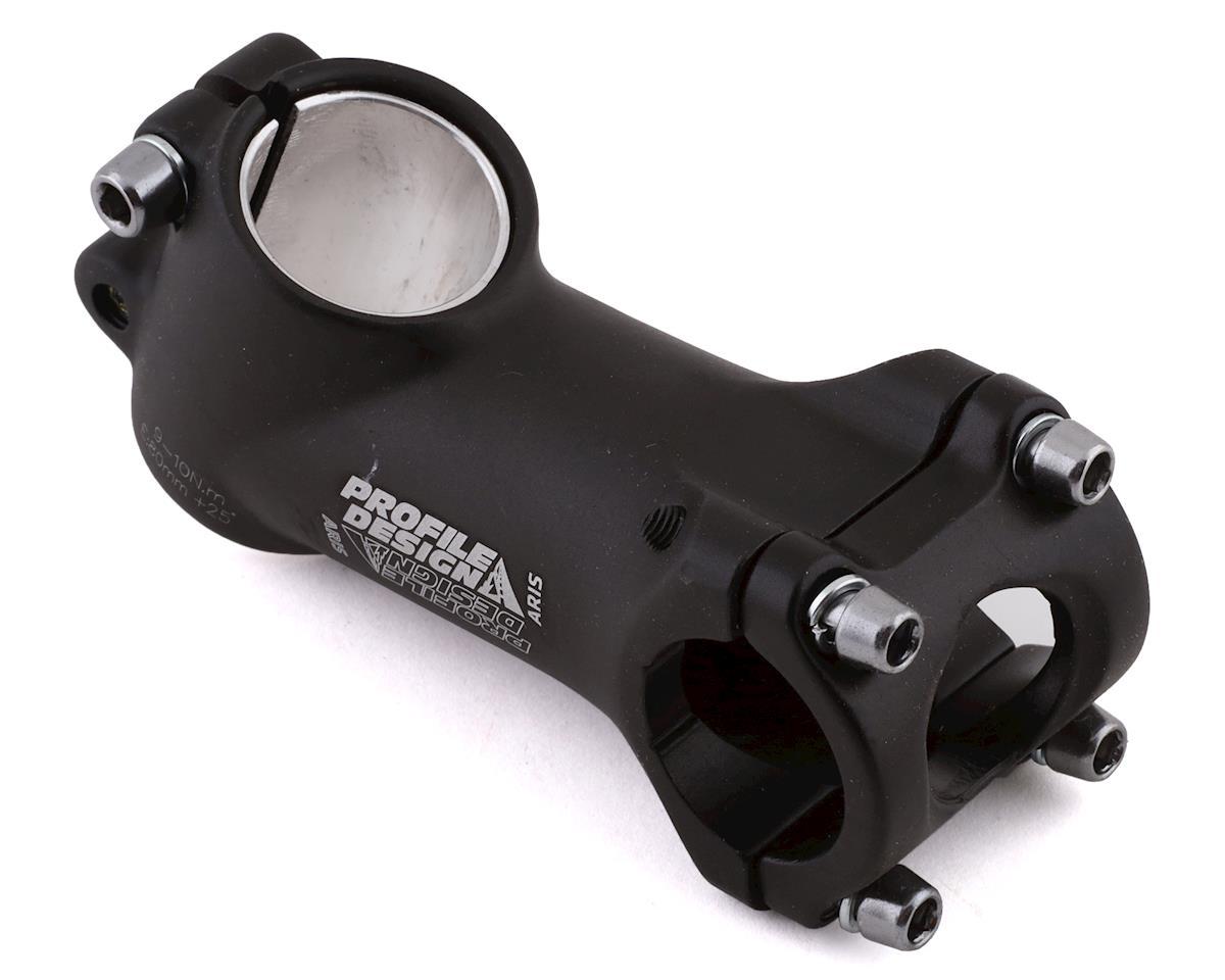"""Profile Design Aris Stem (Black) (+/- 25°) (1-1/8"""") (26.0 Clamp) (80mm)"""