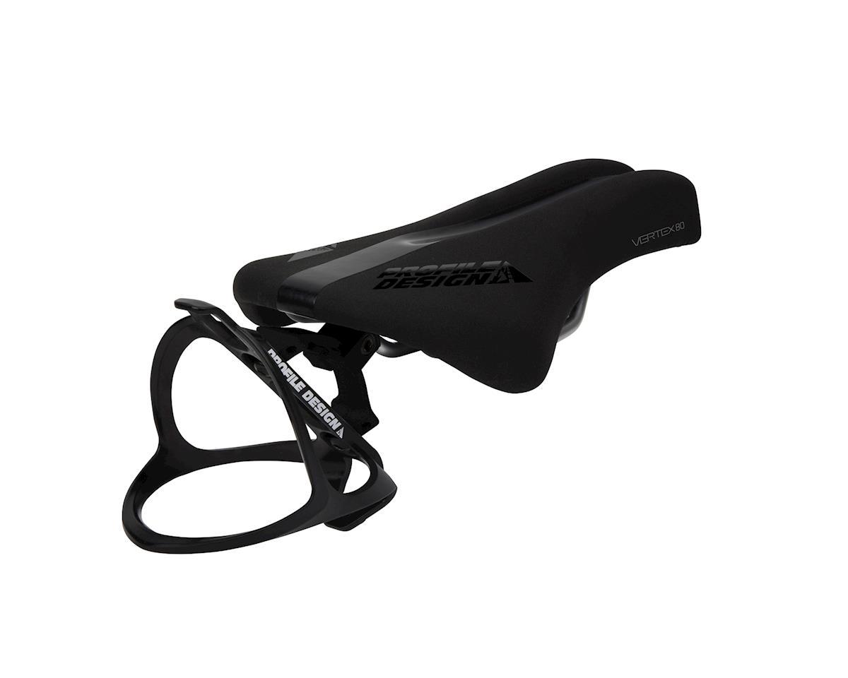 Profile Design Vertex 80 (Black) (Titanium Rails)